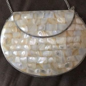 Avalone shell purse